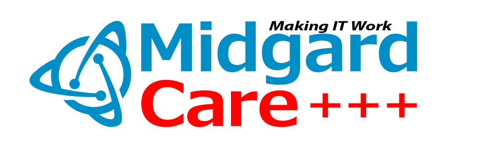 IT Support Midgard CARE Logo