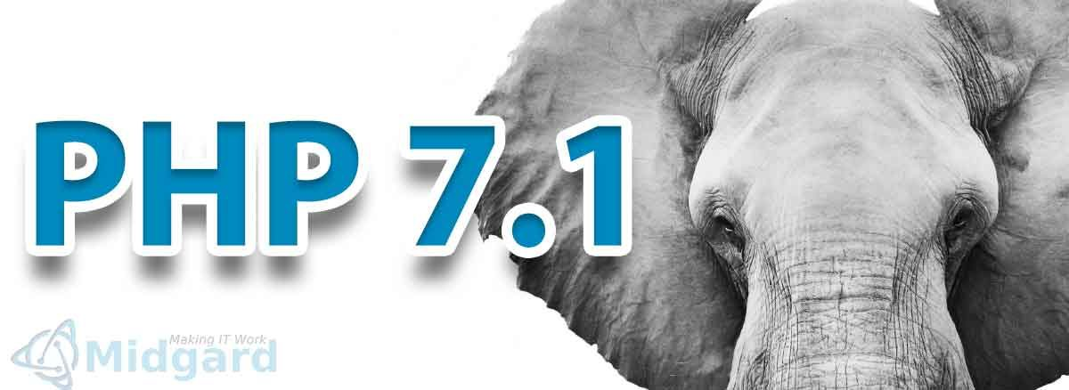 PHP 7.1 Release. 2