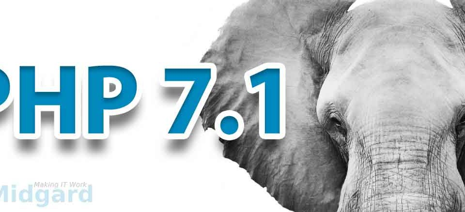 PHP 7.1 Release. 4