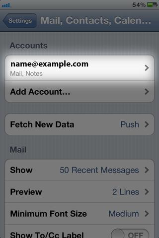 How To Setup Imap Emails on IOS (2019) In An Easy Step By Step Guide 12